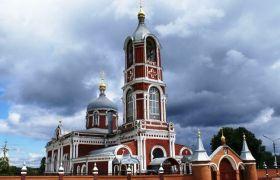 Воскресенский храм города Воскресенска, 1891 г.